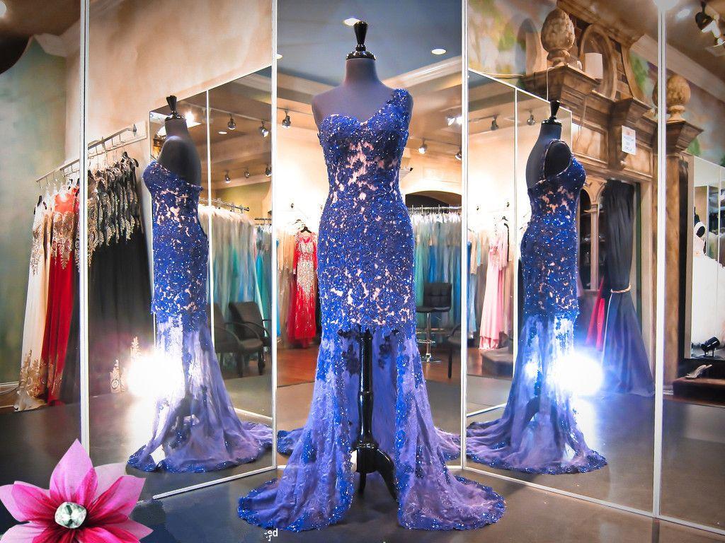 New arrival prom dressblack prom dress mermaid lace long evening