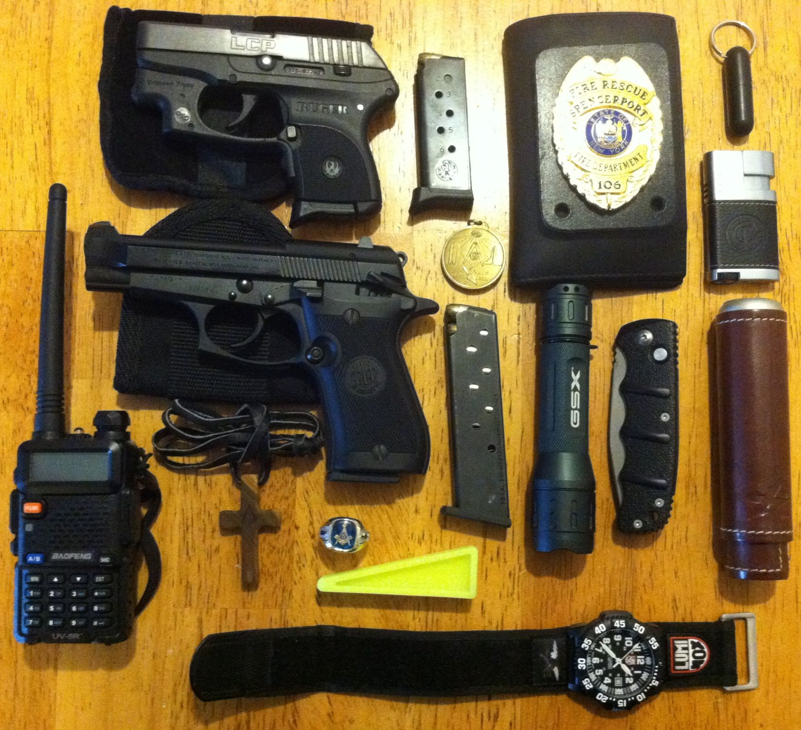 Just an every day off duty carry Beretta 85f with small of
