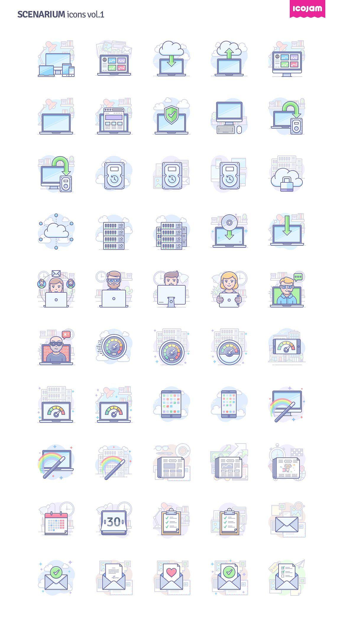 Scenarium icons vol.1 icon, flaticon, icons, icon pack