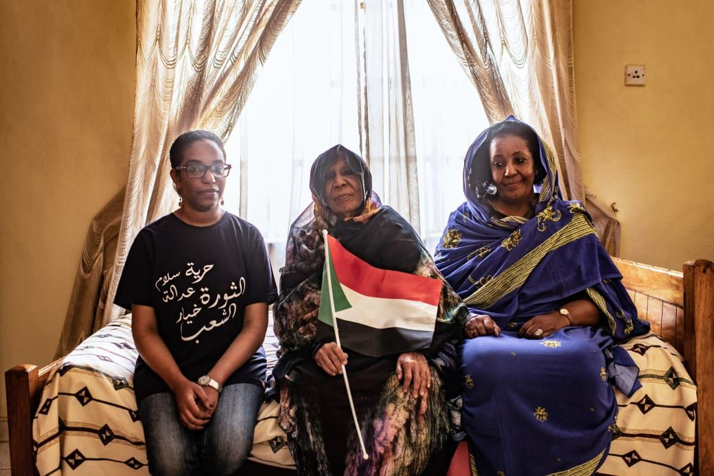 The Women Who Have Fought To Save Sudan — One Generation