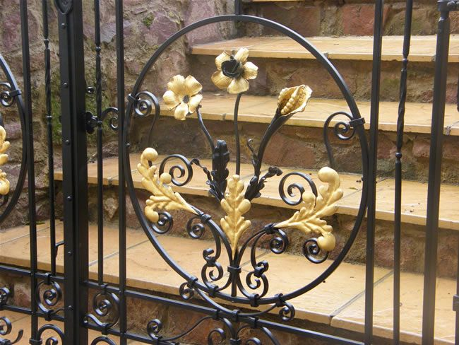 Wrought Iron Gates Exeter