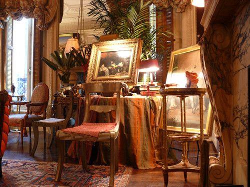 Un appartement de collectionneur à New York Furniture placement