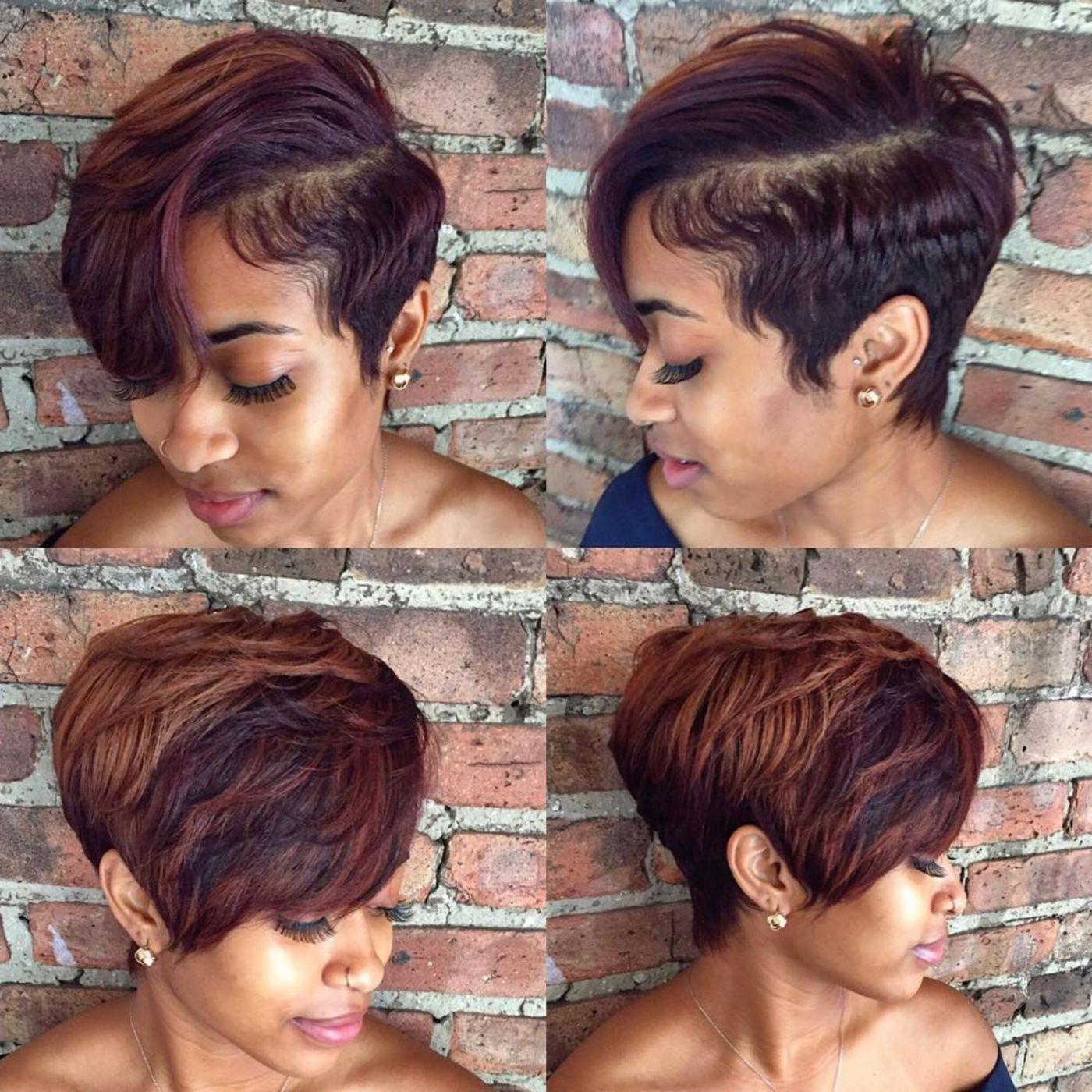 12 Great Short Hairstyles for Black Women  Black women hairstyles