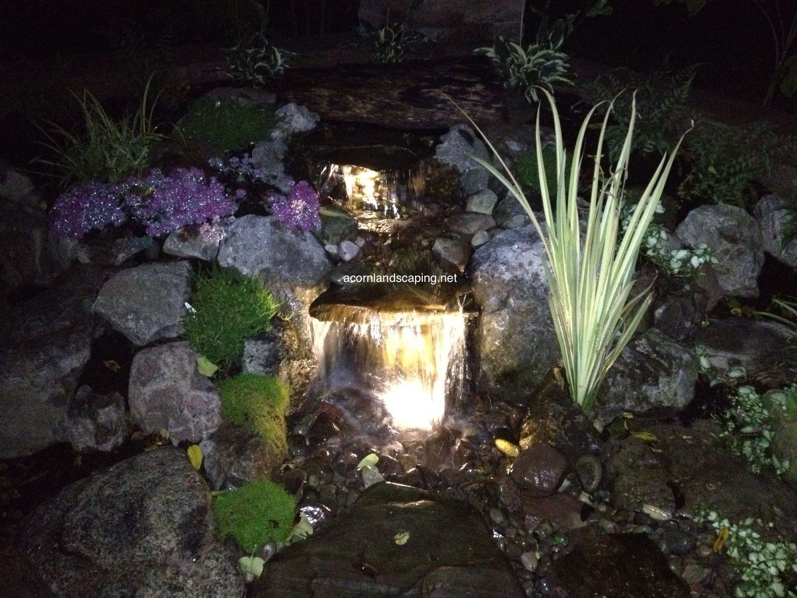 check out these stunning aquascape pondless waterfalls in brighton