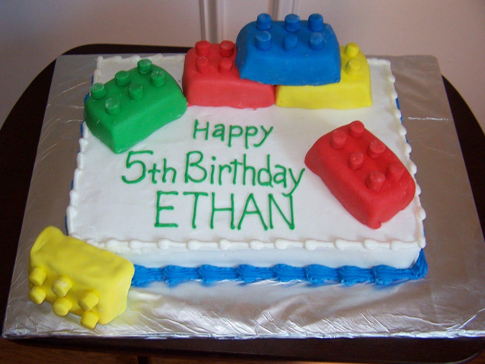 Birthday Cakes Asda In Store ~ Lego cake ideas for boys lego cake desserts pinterest