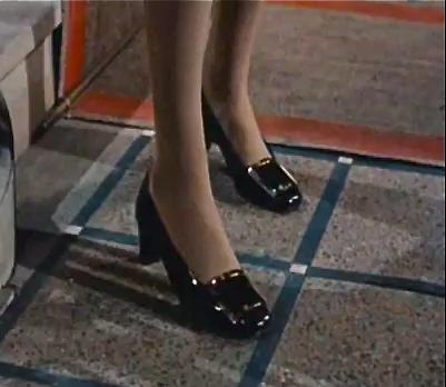 Catherine Deneuve in Roger Vivier shoes