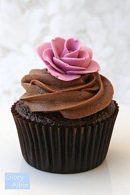 cute! - Chocolate cupcake recipe