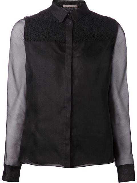 JASON WU Lace Panel Shirt. #jasonwu #cloth #shirt