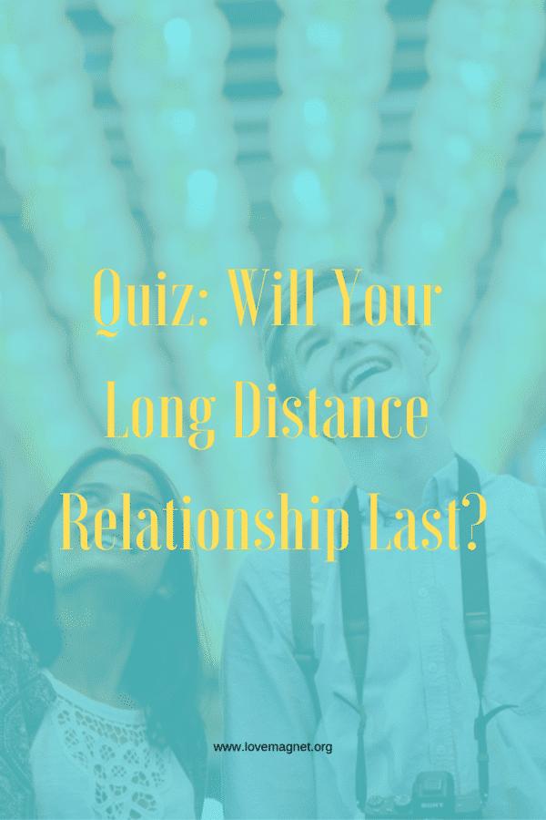 long distance quiz
