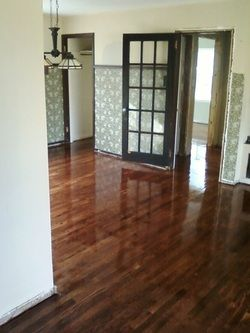 Red Oak Stain On Red Oak Flooring Semi Gloss Finish Picture Home