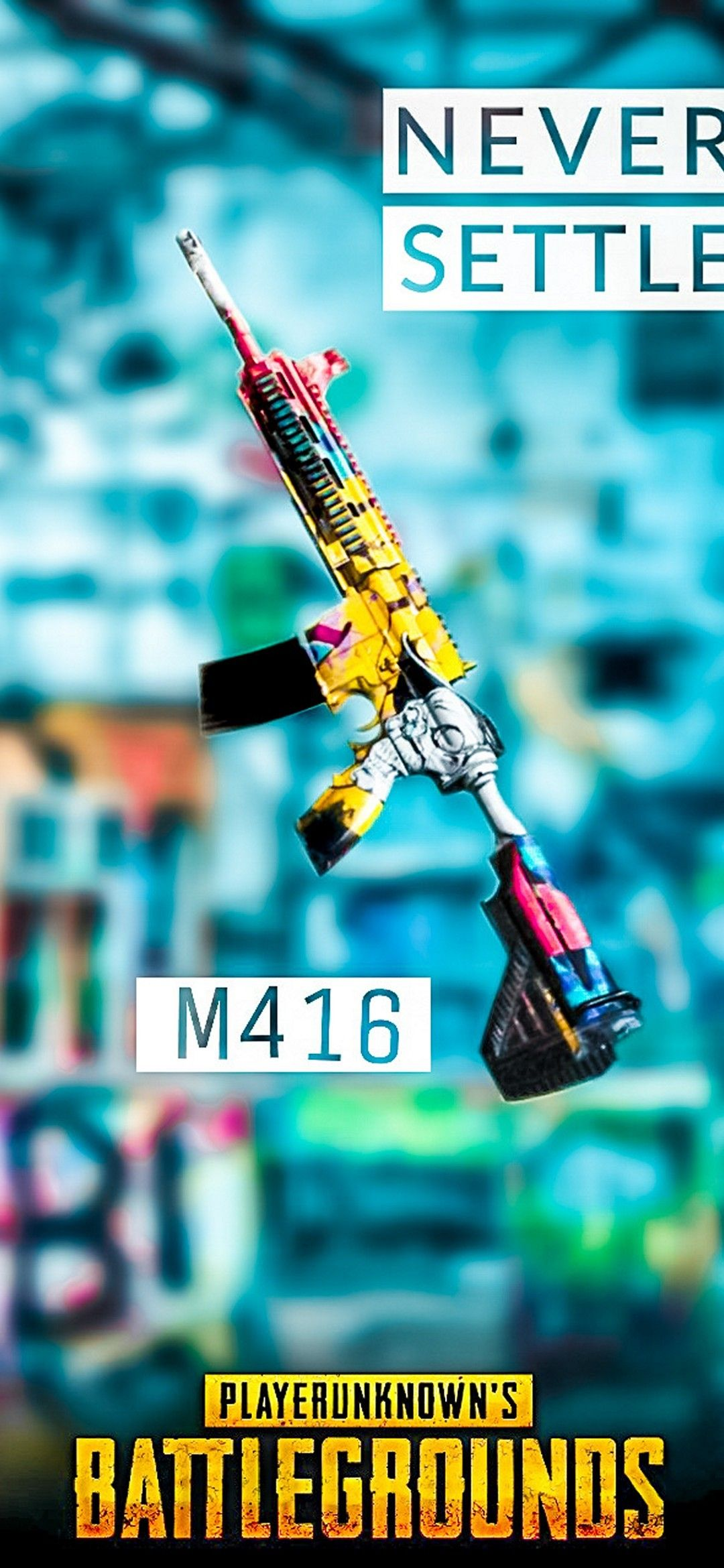 PUBG M416 in 2020 Android phone wallpaper, Phone