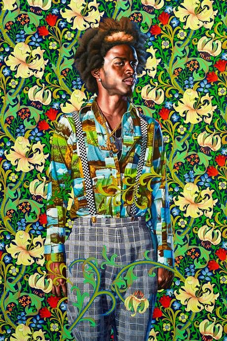 kehinde wiley fuses colonial-era portraiture with contemporary ...