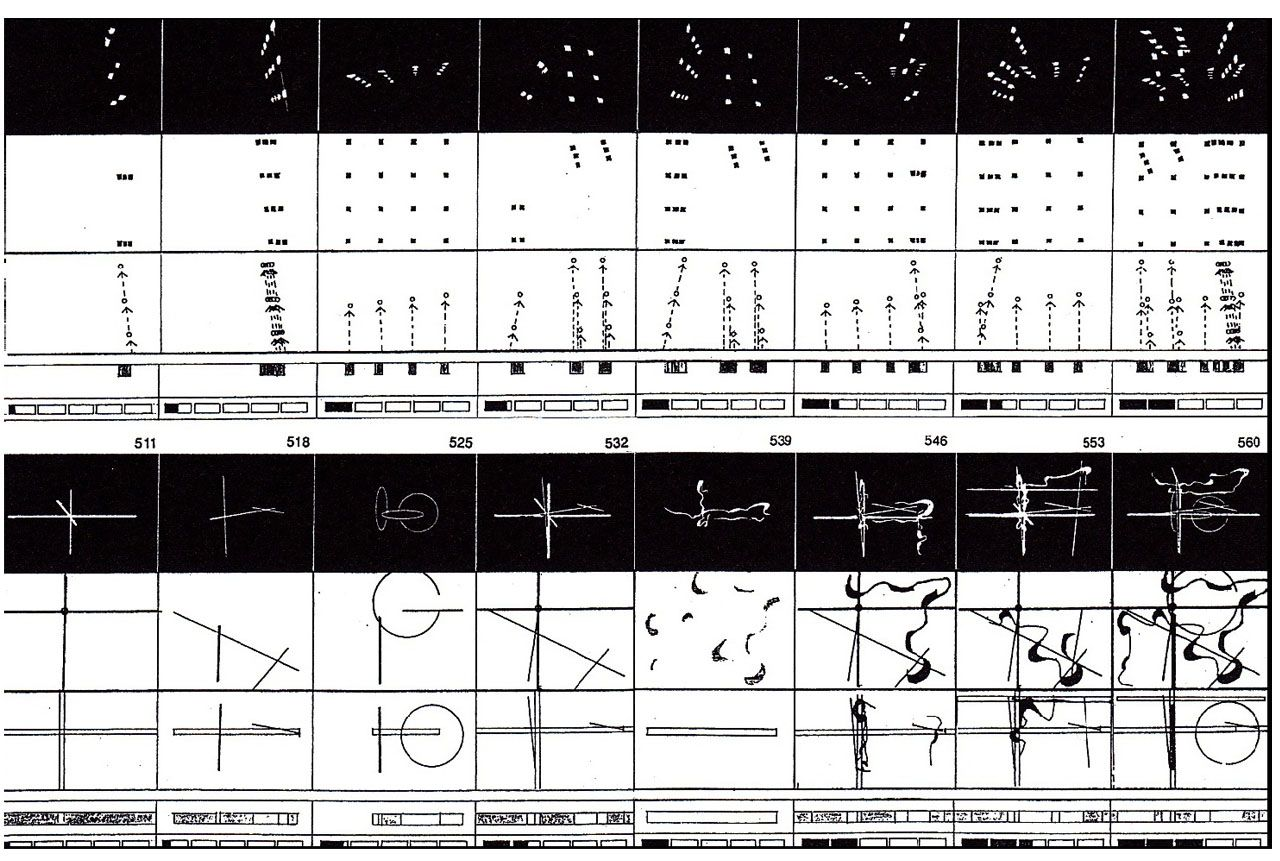 bernard tschumi diagram of fireworks at parc de la villette [ 1280 x 861 Pixel ]