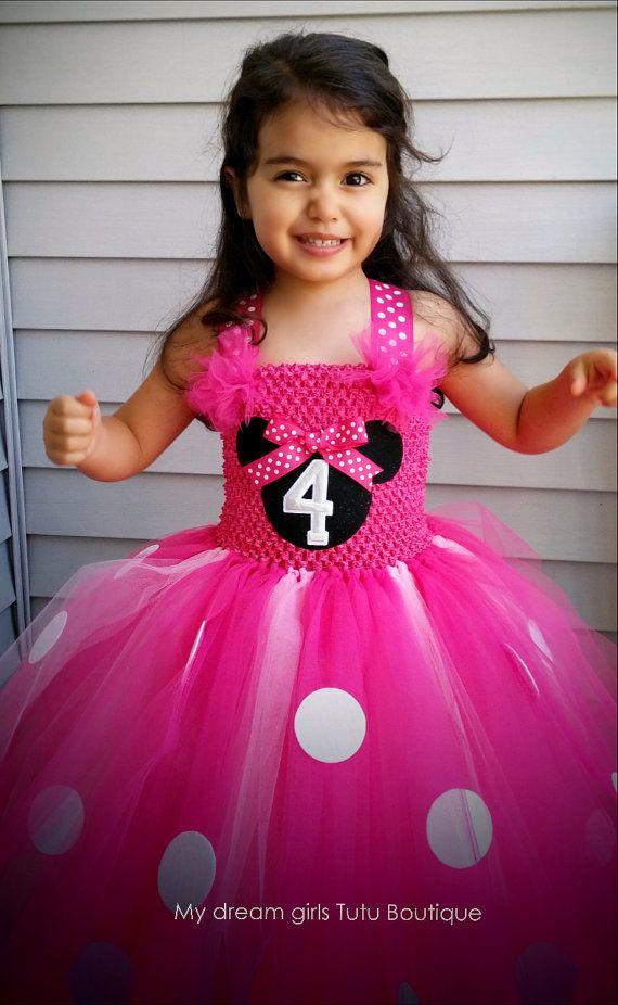 Minnie mouse princess dress, Minnie mouse tutu dress, Minnie Mouse ...