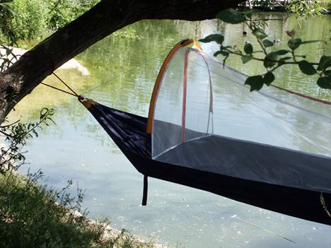 the nyamuk   pact sleeping bag that goes from full tent to hammock  plete with mosquito the nyamuk   pact sleeping bag that goes from full tent to      rh   pinterest