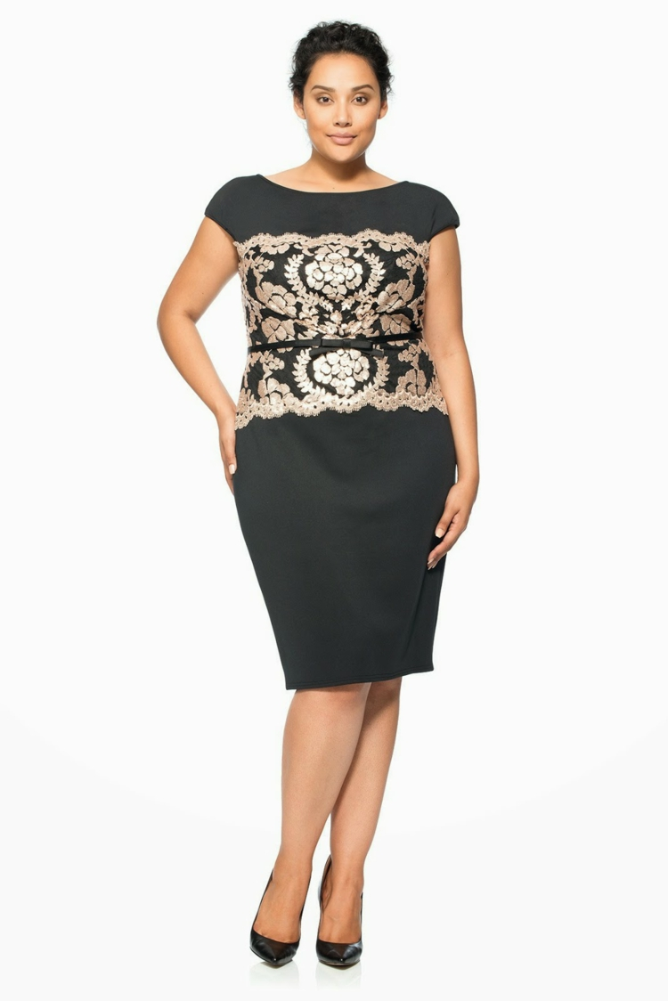 kleider in großen größen: elegante mode für kurvige damen in