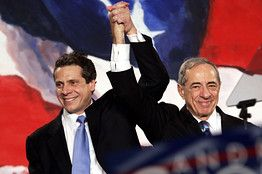 Andrew Cuomo Is Tough On Banks Mario Cuomo Is Buying Into A Bank Mario Cuomo Andrew Cuomo Mario