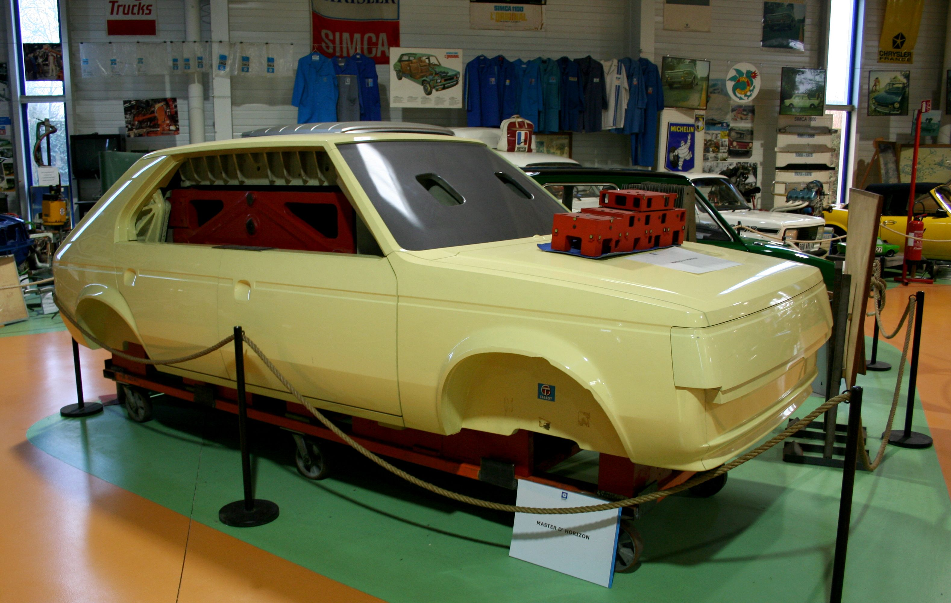 OG | 1977 Simca-Chrysler-Talbot Horizon - C2 Project | Full-size master model © Olivier Guin