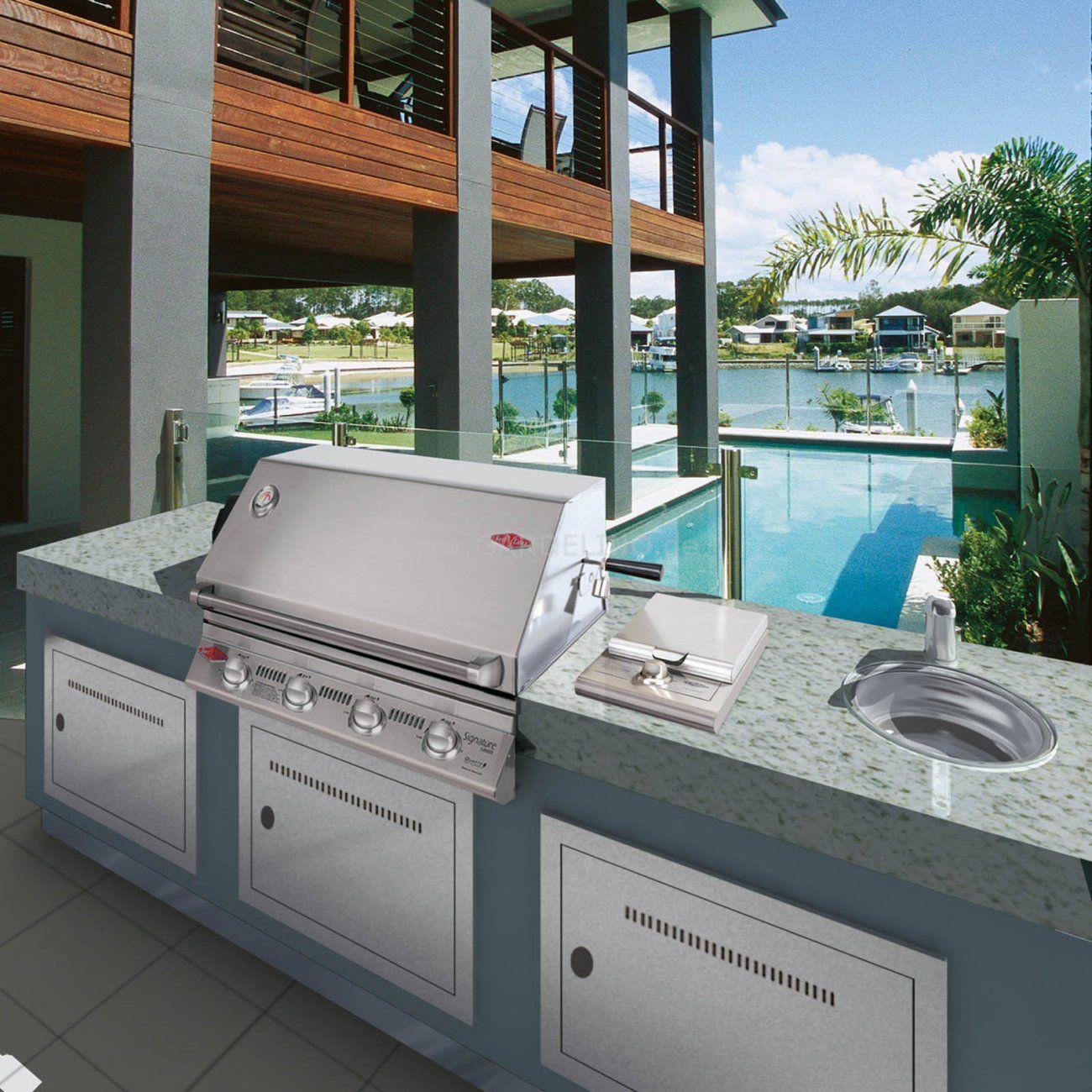 beefeater außenküche auf der veranda | beefeater bbq grill | pinterest