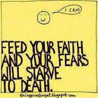 feed you faith!