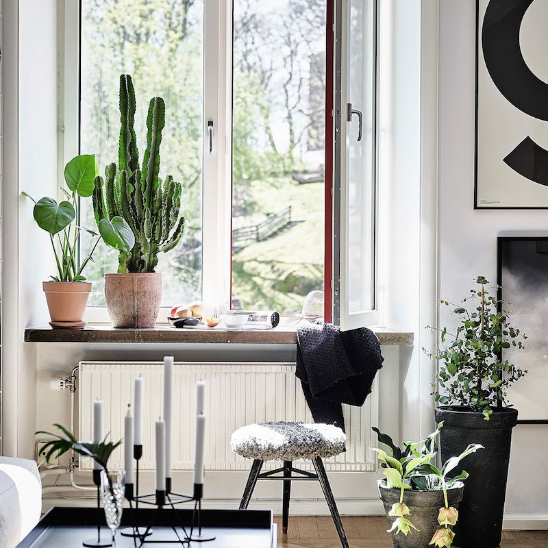 Cosy Scandinavian apartment with the perfect accessories
