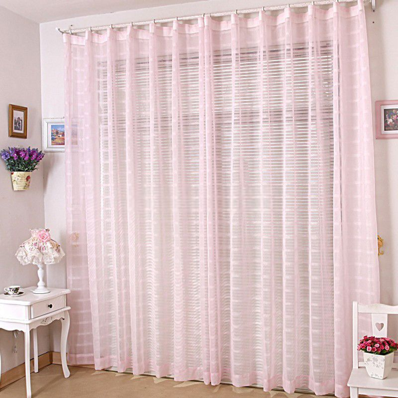 Romantic Light Pink Sheer Curtains For Bedrooms Pink Sheer