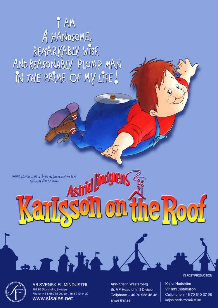 Astrid Lindgren Karlsson On The Roof Tv Series Online Tv Series Books