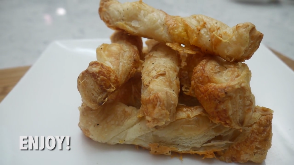 Quick Eats: Cheese Twists