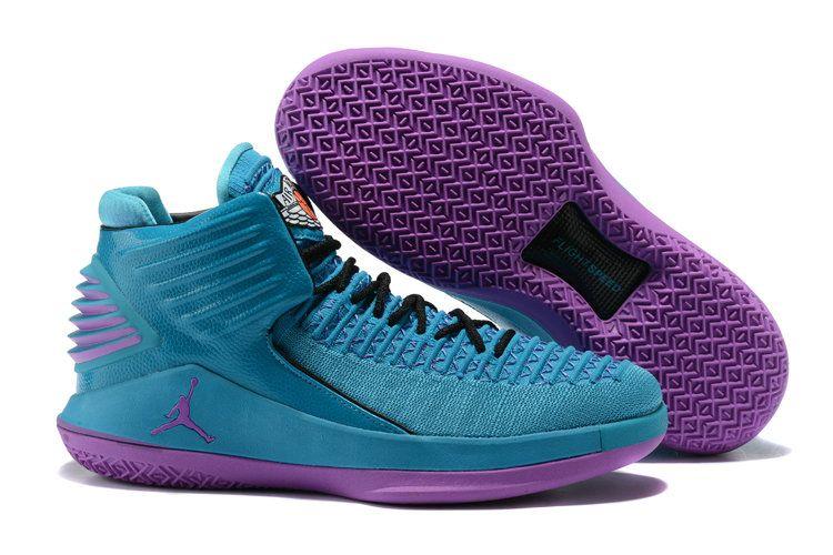 Jordan Sneakers Wholesale Cheap Nike Air Jordan 32 Purple Blue