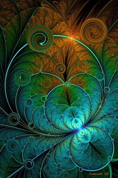 Digital Fractal - Art by Wesley Phillips <3