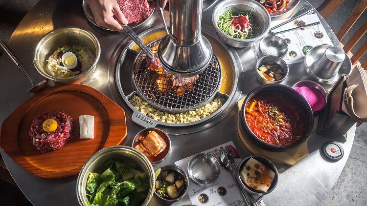 The Best Korean Bbq In Nyc Korean Bbq Best Korean Bbq Korean Bbq Restaurant