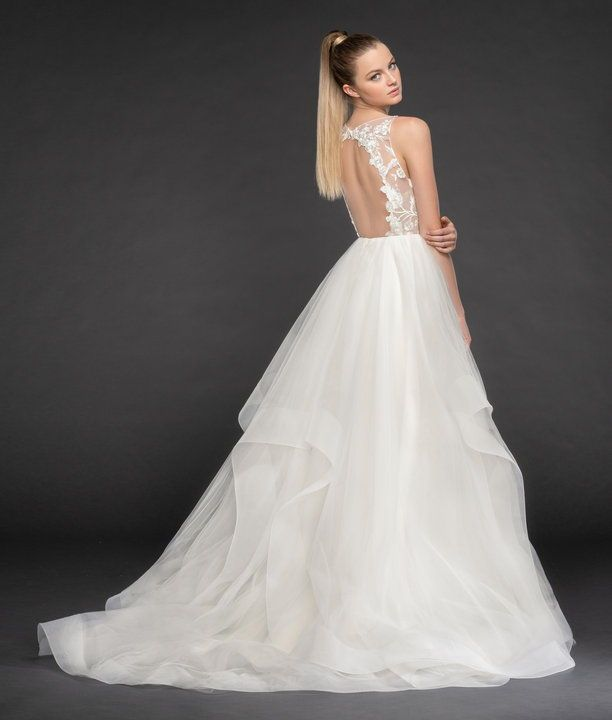 Iris Blush By Hayley Paige Blush Collection Whimsical Wedding