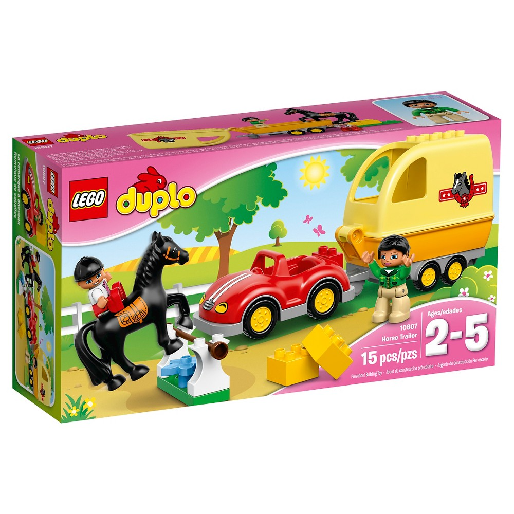 LEGO® DUPLO® Town Horse Trailer 10807   Products   Lego