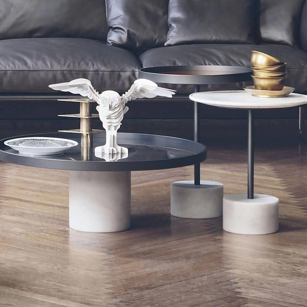 Maisie Round Tray Top Coffee Table In 2021 Coffee Table Coffee Table Wood Black Coffee Tables [ 1080 x 1080 Pixel ]