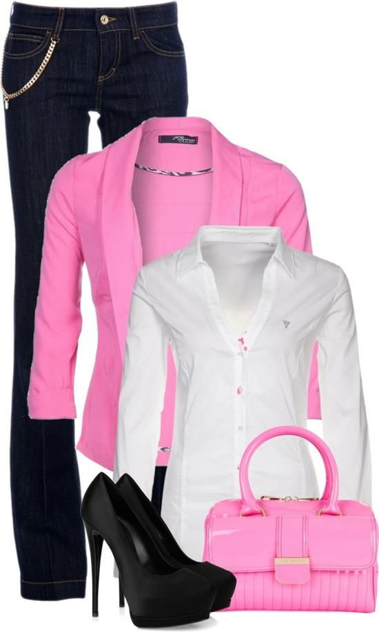 pops of pink   klere   Pinterest   Pintas, Barbie y Ropa