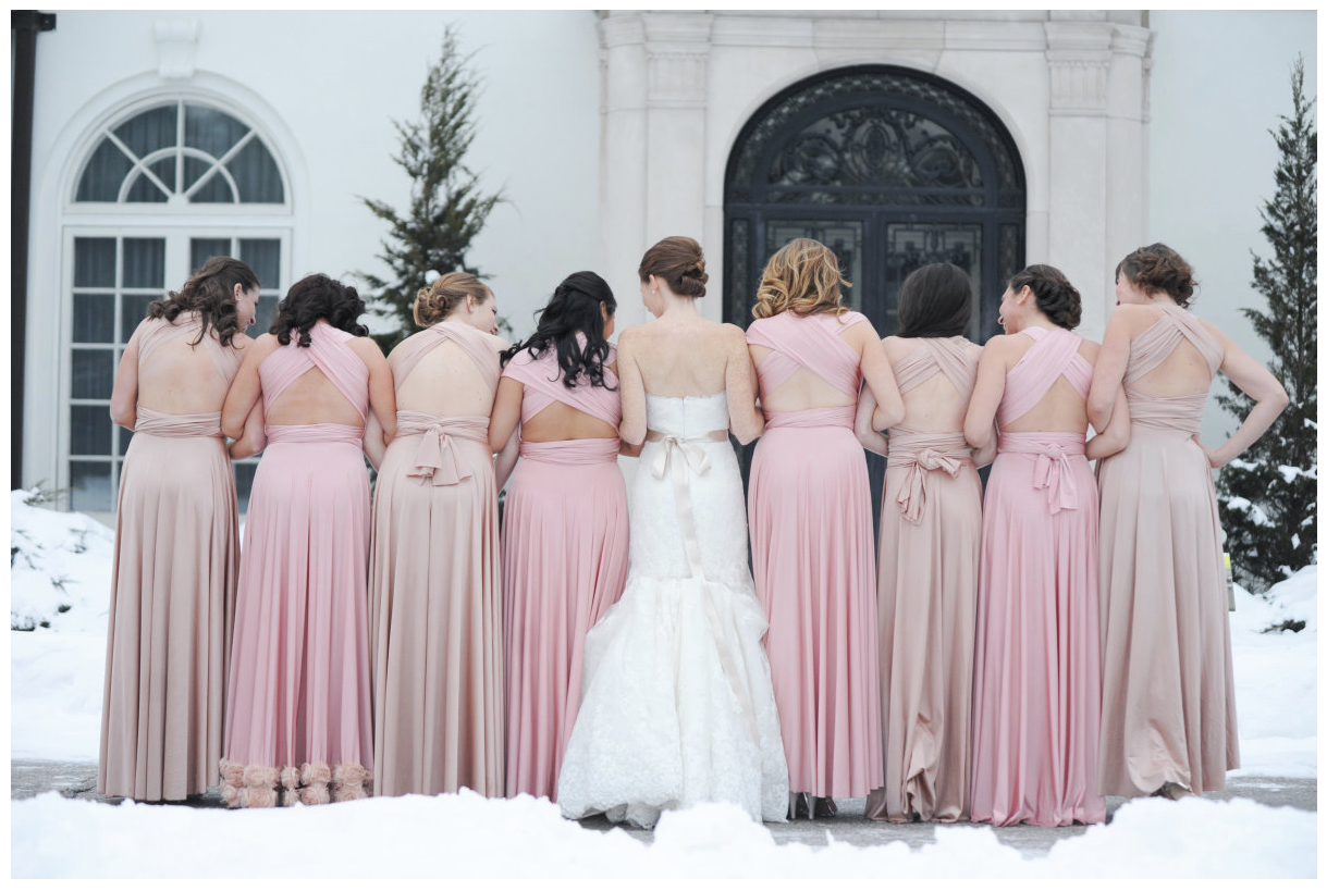 Blush and beige bridesmaids dresses neutral blush wedding blush and beige bridesmaids dresses ombrellifo Images