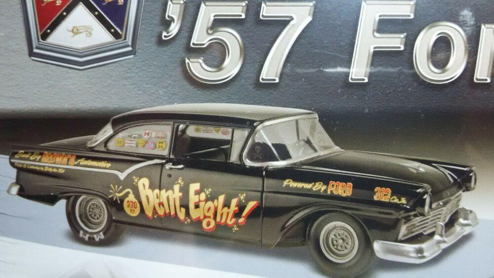 1/25 1957 Ford Two Door Sedan Drag Racing & Stock 2 in 1