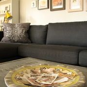 Gray Couch Design Ideas, Pictures, Remodel, and Decor - page 2