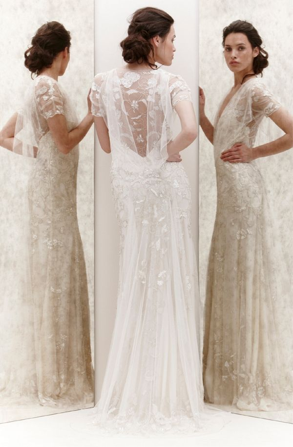 Jenny packham azalea picture of back of azalea wedding for Jenny packham sale wedding dresses