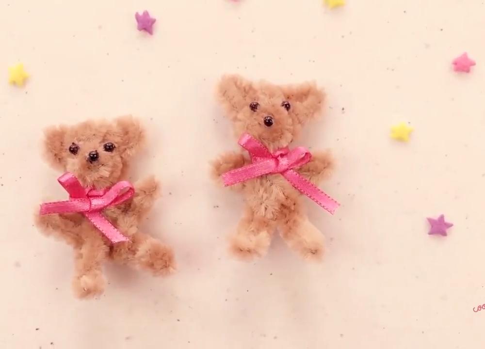MINI TEDDY BEARS #loisirscréatifs