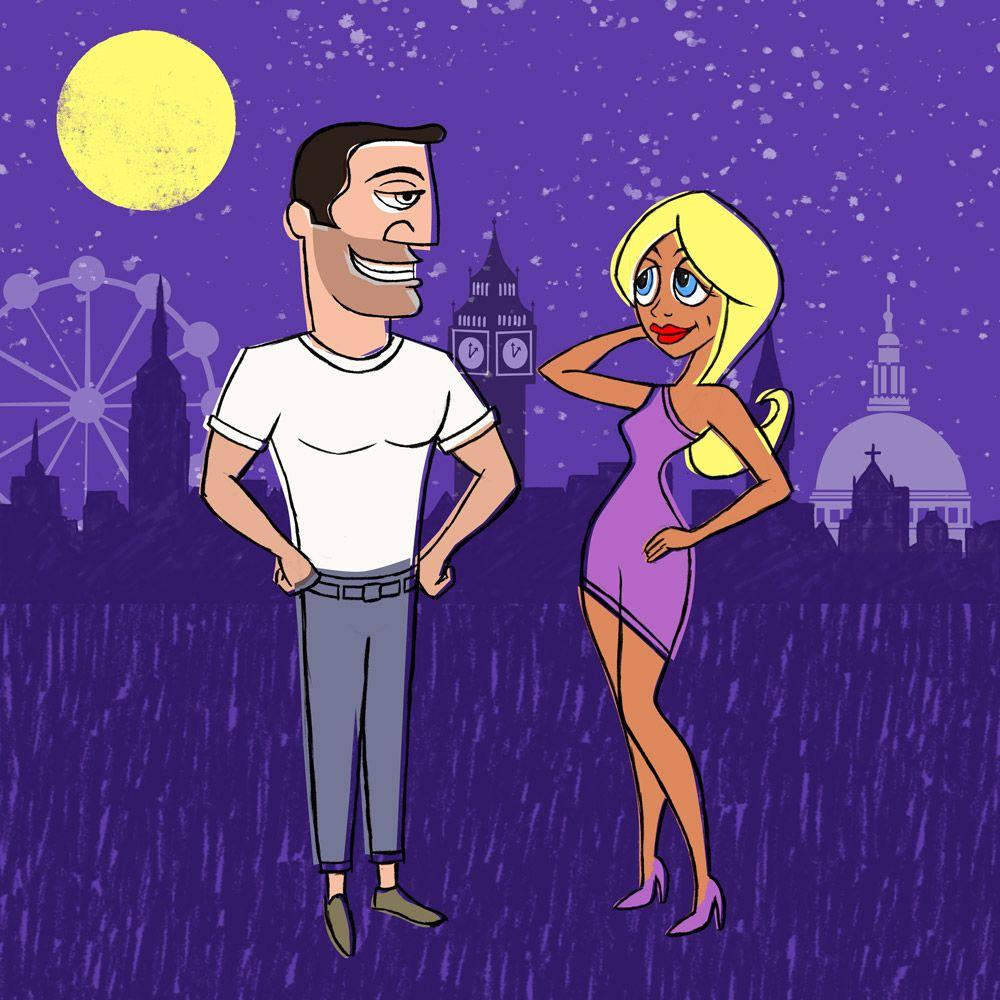 Moon dating Londen Wie is Stephanie van zonen van geweren dating
