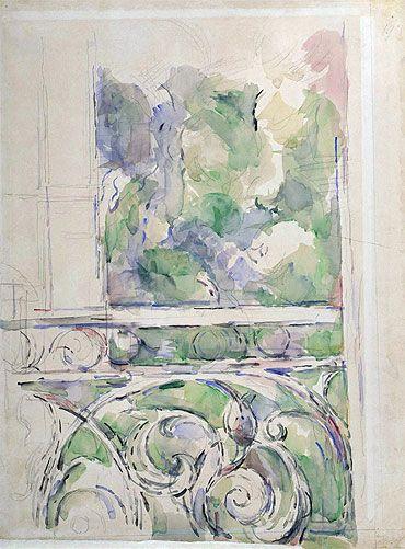 Paul Cezanne, the Balcony