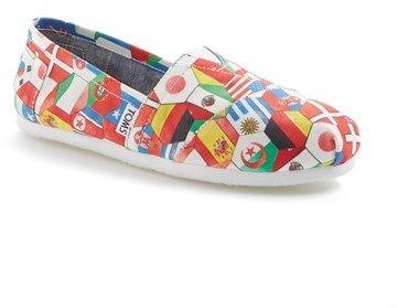 9c01819f136 Toms  Classic - World Cup  Slip-On (Women) on shopstyle.com ...