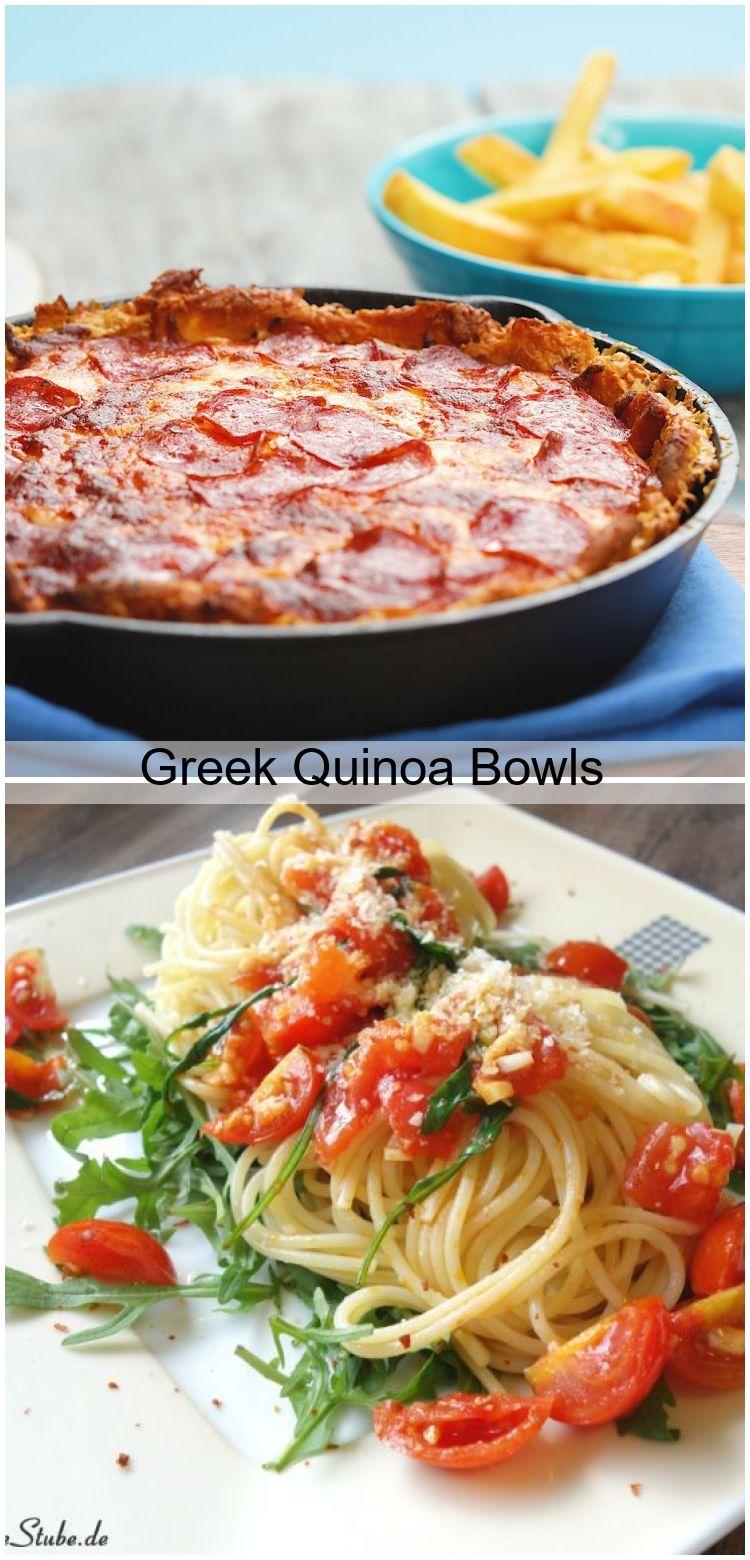 Greek Quinoa Bowls Greek Quinoa Bowls,