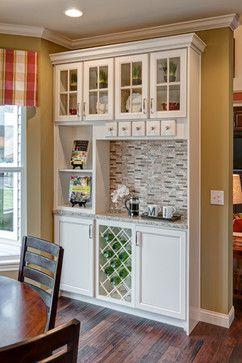 Breakfast Nook Built In Coffee Bars In Kitchen Home Bar