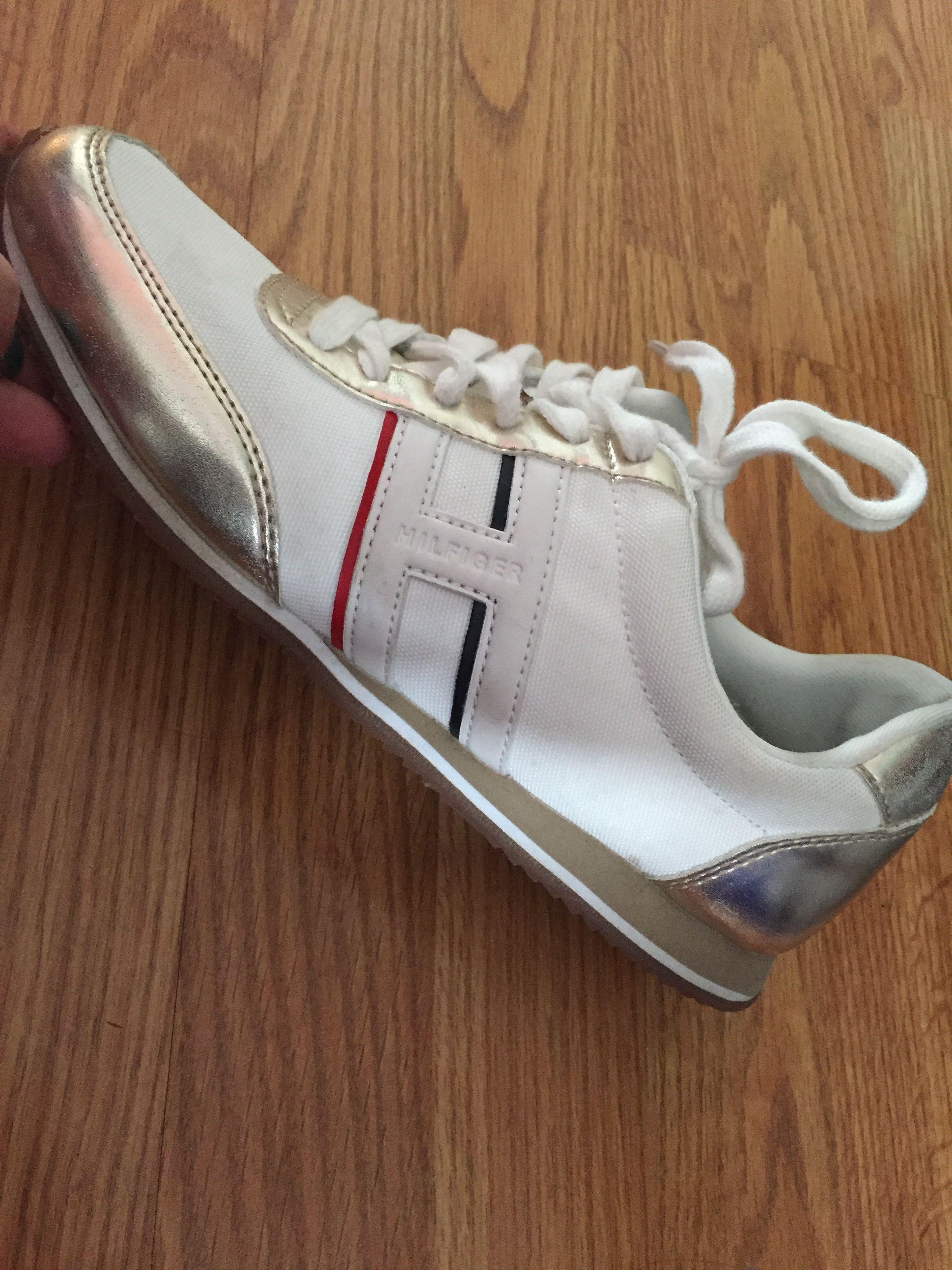 Zapatos Hilfiger blancos mujer