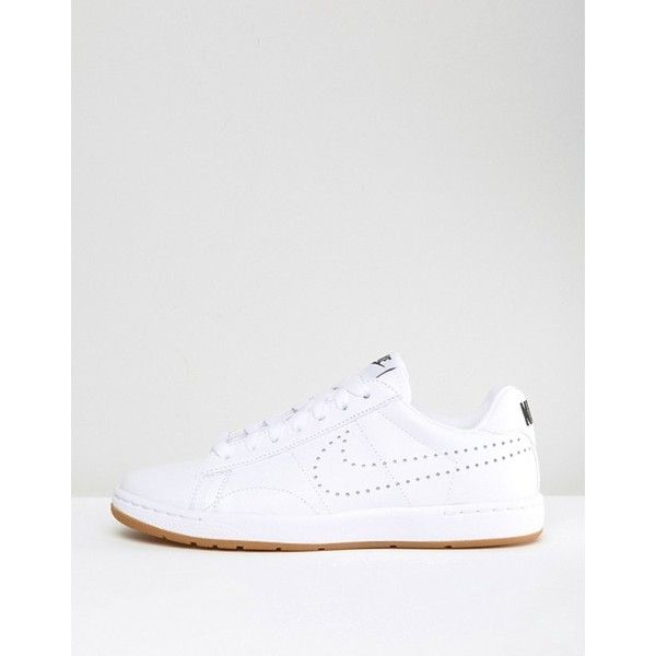 Nike Tennis Classic Trainers In White