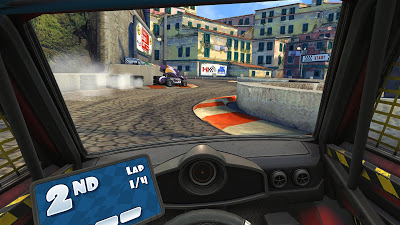 Mini Motor Racing X Game Screenshot 1