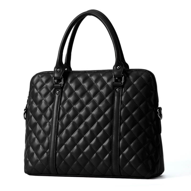 69.99$  Buy now - http://alivhp.shopchina.info/go.php?t=32792504841 - New Genuine Leather Handbag Business Case Leather Briefcase Bag Laptop Bag Women Leather 14 Inch Computer for Ipad Work Package  #magazine