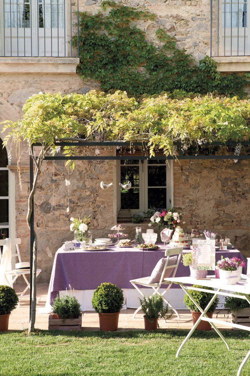 Una fiesta en el jard n ideas para el hogar jardines for Jardines bonitos y sencillos